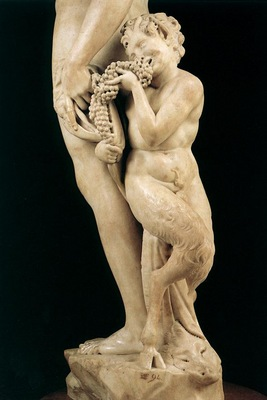 Michelangelo Bacchus detail1