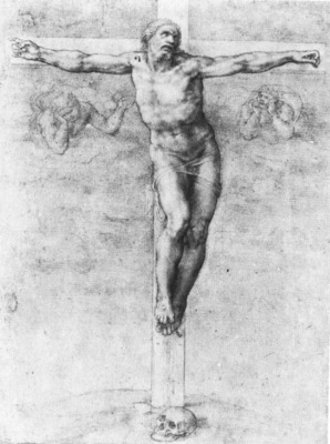 Michelangelo Christ on the Cross