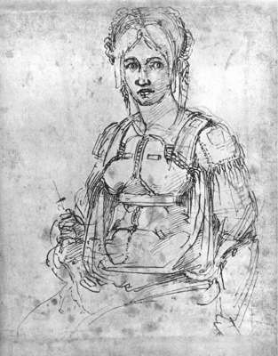 Michelangelo Portrait of Vittoria Colonna
