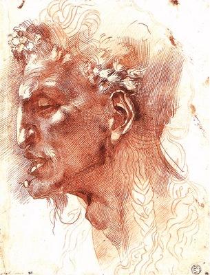 Michelangelo Satyr s Head