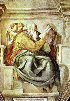 Michelangelo The Prophet Zechariah