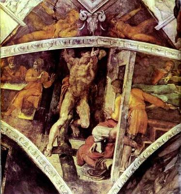 Michelangelo The Punishment of Haman
