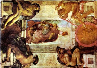 Michelangelo The Separation of Land and Water