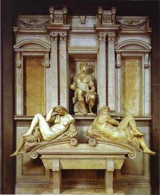 Michelangelo Tomb of Giuliano de Medici
