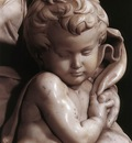 Michelangelo Madonna and Child detail3
