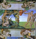 Michelangelo The Fall of Man and the Expulsion from the Garden of Eden