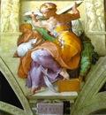 Michelangelo The Libyan Sibyl