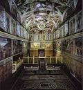 Michelangelo The interior of the Sistine Chape