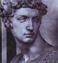 Michelangelo Tomb of Giuliano de Medici detail