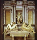 Michelangelo Tomb of Giuliano de Medici