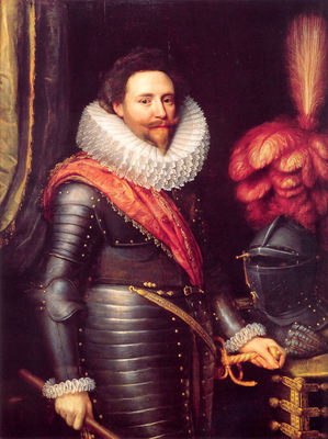 Portrait of Frederick Hendrick Prince of Orange Nassau