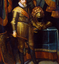 Miereveld van Michiel Maurits Prince of Orange Sun
