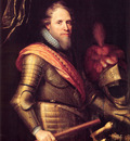 Portrait of Maurits Prince of Orange Nassau