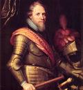 Portrait of Maurits Prince of Orange Nassau
