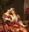 Mieris Willem Van Dutch 1662 to 1747 The Death Of Cleopatra SnD 1694 O P 22 9 by 20cm
