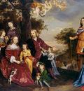 Mijtens Jan Mr van de Kerckhoven and his family Sun