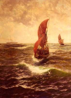 Miles Thomas Rose With Fair Wind And Flowing Sheet