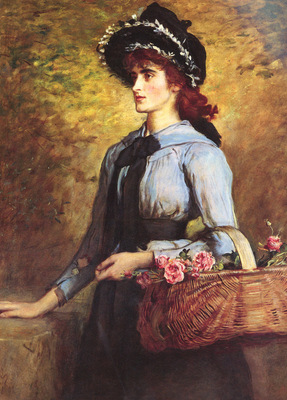 Millais Sir John Everett British Sweet Emma Morland SnD 1892 O C 121 3 by 90 8cm