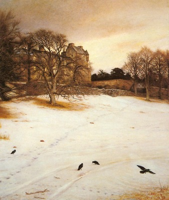 millais sir john everett christmas eve