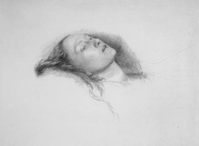 Millais Study for Ophelia
