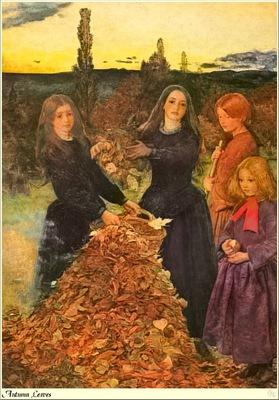 Republica SWD 021 John Everett Millais Autumn Leaves