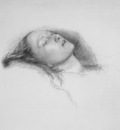 Millais Study for Ophelia