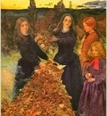 Republica SWD 021 John Everett Millais Autumn Leaves