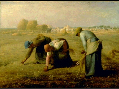 Millet Des glaneuses, 1857, Musee dOrsay