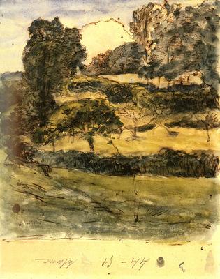 Millet Jean Francois Pastures In Normandy