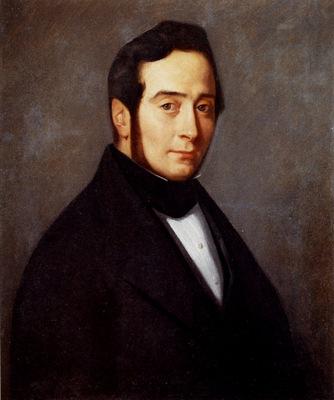 Millet Jean Francois Portrait Of Eugene Canoville