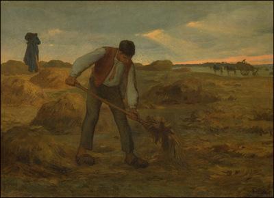Peasant Spreading Manure NCM
