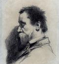 Millet Jean Francois Portrait Of A Man Said To Be Leopold Desbrosses