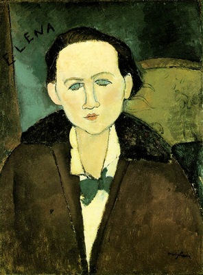 Modigliani Elena Pavlowski, 1917, 64 8x48 9 cm, The Phillips