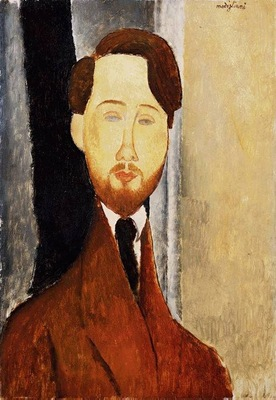 Modigliani Portrait of Leopold Zborowski, 1919, Barnes found