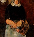 Modigliani The Pretty Housewife, 1915, Barnes foundation
