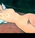erotic art csg022 nude reclining amedeo modigliani
