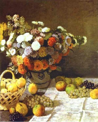 Claude Monet Flowers and Fruits