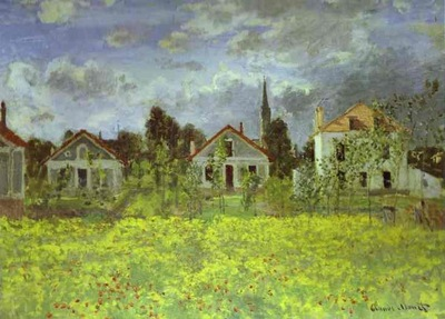 Claude Monet Houses at Argenteuil