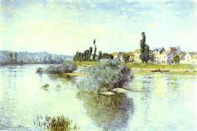 Claude Monet Lavacourt