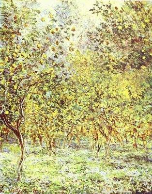 Claude Monet Lemon Trees  Bordighera