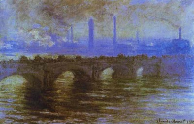 Claude Monet London  The Waterloo Bridge