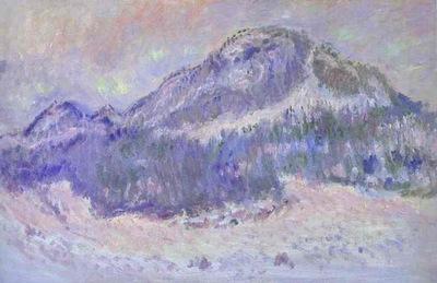 Claude Monet Mount Kolsaas in Norway