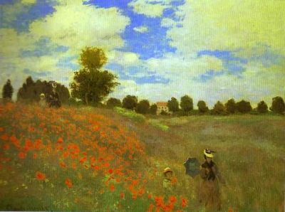 Claude Monet Red Poppies at Argenteuil