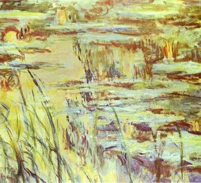 Claude Monet Reflets sur leau
