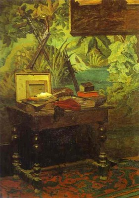 Claude Monet Studio Corner