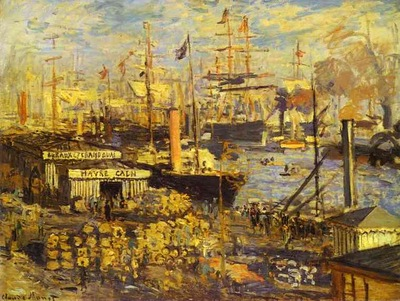 Claude Monet The Grand Dock at Le Havre Le Grand Quai au Le Havre