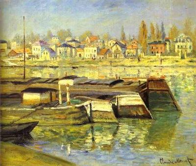 Claude Monet The Seine at Asnieres La Seine O Asnieres