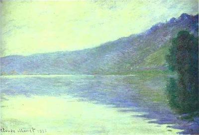 Claude Monet The Seine at Port Villez  The Harmony in Blue