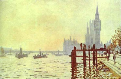 Claude Monet The Thames at Westminster Westminster Bridge