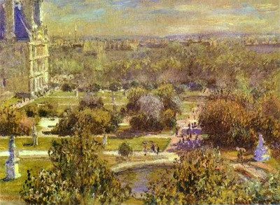 Claude Monet The Tuileries